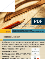 PURIFICATION OF METHANOL BY AZEOTROPIC DISTILLATION.pptx