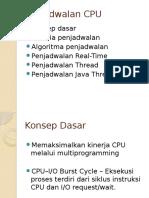 CPU Scheduling Fix