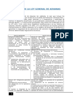 Análisis de La Ley General de Aduanas