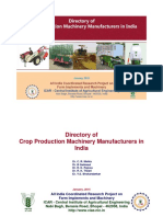 Crop Production Machinery Manufacturers Directory 2015