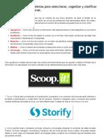Las 19 mejores herramientas para seleccionar, organizar y clasificar la información de internet_