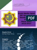 1. 2016Divisi Media Opini