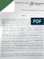Acta - Reunión en Ministerio de Trabajo - SOEME