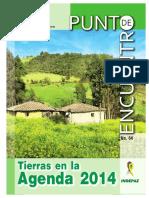 Revista PE64 Tierras en La Agenda 2014
