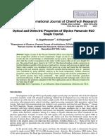 International Journal of Chemtech Reserach 2015