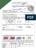 ANGELA Avaliação Matemática - 4º Bimestre -IMPRIMIR!!!