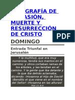 Infografía de La Pasión