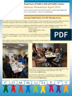 Florida Department of Health in Franklin/Gulf Counties April Wellness Newsletter