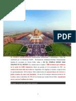 EL TEMPLO AKSHARDHAM Swaminarayan Akshardham y Akshardham o Delhi Fue Construida Por La Fundación BAPS