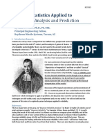 Bayesian Statistics Applied to Reliability Analysis
