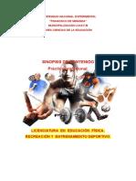 Pràctica Profesional educación física UNEFM