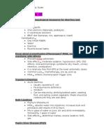 Pharm 4 Study Guide