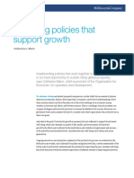 Designing Policies That Support Growth