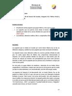 ENVIO de PAQUETES 4x4 Resumen y Aclaracion