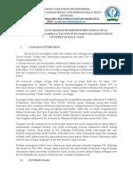 Proposal Pengadaan Alat Taekwondo Fk Uho