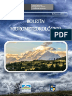 BOLETIN Hidrometeorológico Final