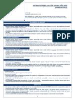 Instructivo Declaracion Jurada 2016 PDF