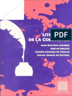 Literatura ecuatoriana de La Colonia