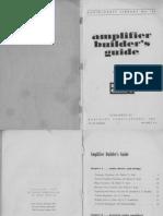 Amplifier Builders Guide - Hugo Gernsback - 1964