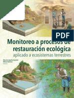 Monitoreo o Procesos de Restauracion Ecologica, Aplicado a ecosistemas terrestres