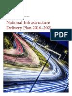 National Infrastructure Plan 2021 UK