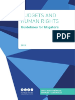 Budgeting and Litigation Guideline 2015 (1)