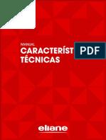 Caracteristicas Tecnicas Assentamento Manutencao