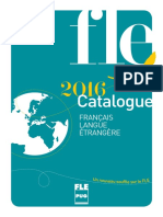 Catalogue Francais Langue Etrangere 2015 Ed1 v1