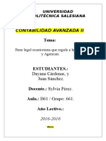 Base Legal (Matriz y Agencias)