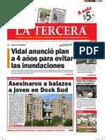 Diario La Tercera 28.04.2016