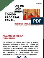 Tecnicas de Litigacion Oral 16-04-2015