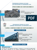 1 Construcc II Acero UPT 2016