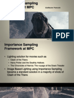 Importance sampling Framework at MPC