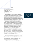 US Department of Justice Civil Rights Division - Letter - tal620
