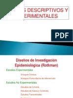 Diseños Descriptivos y Experimentales USMP