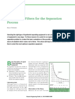 Selection of Filtration