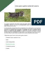 Arena para gatos Biodegradable
