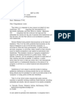 US Department of Justice Civil Rights Division - Letter - tal621