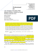 Between the Professional and the Private_GOLDBLATT ET AL_2009