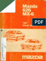 1989 Mazda MX-6 Wiring Diagram v3beta3