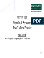 EECE 301 NS_08 Computing the FS Coefficients
