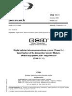 GSM 11.11