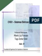 CV631-Aula-1-2S-2012