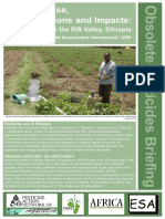 Pesticide Use Accumulation and Impacts