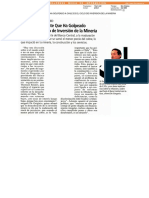 José de Gregorio Lo Más Importante Que Ha Golpeado a Chile Es El Ciclo de Inversión de La Minería
