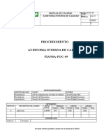Fiansa-poc-09 Procedimiento de Auditoria Interna
