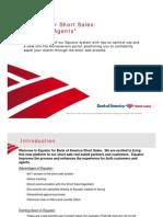 Bank of America Equator Short Sale Guide