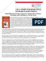 DIARY OF A WIMPY KID 11 BOOK TITLE AND COVER REVEALED
