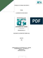 Informe de Dibujo Mecánico (Roscado)