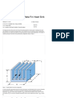 Estimating Parallel Plate-Fin Heat Sink Thermal Resistance « Electronics Cooling Magazine – Focused on Thermal Management, TIMs, Fans, Heat Sinks, CFD Software, LEDs_Lighting